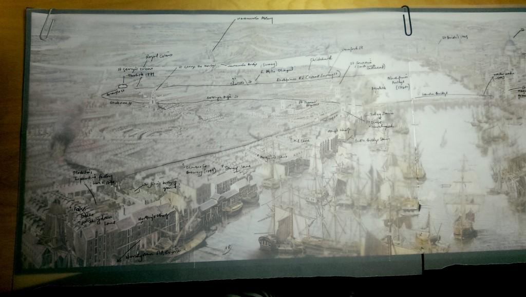 Annotating Rheinbeck panorama