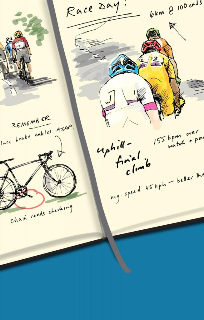Ride Journal by Rosher Consulting Ltd - in app splashscreen