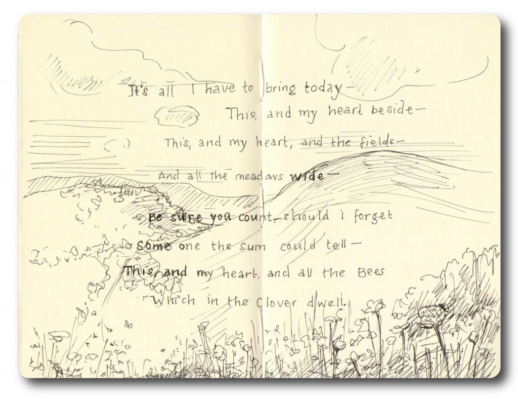 Sketchbook concept rough