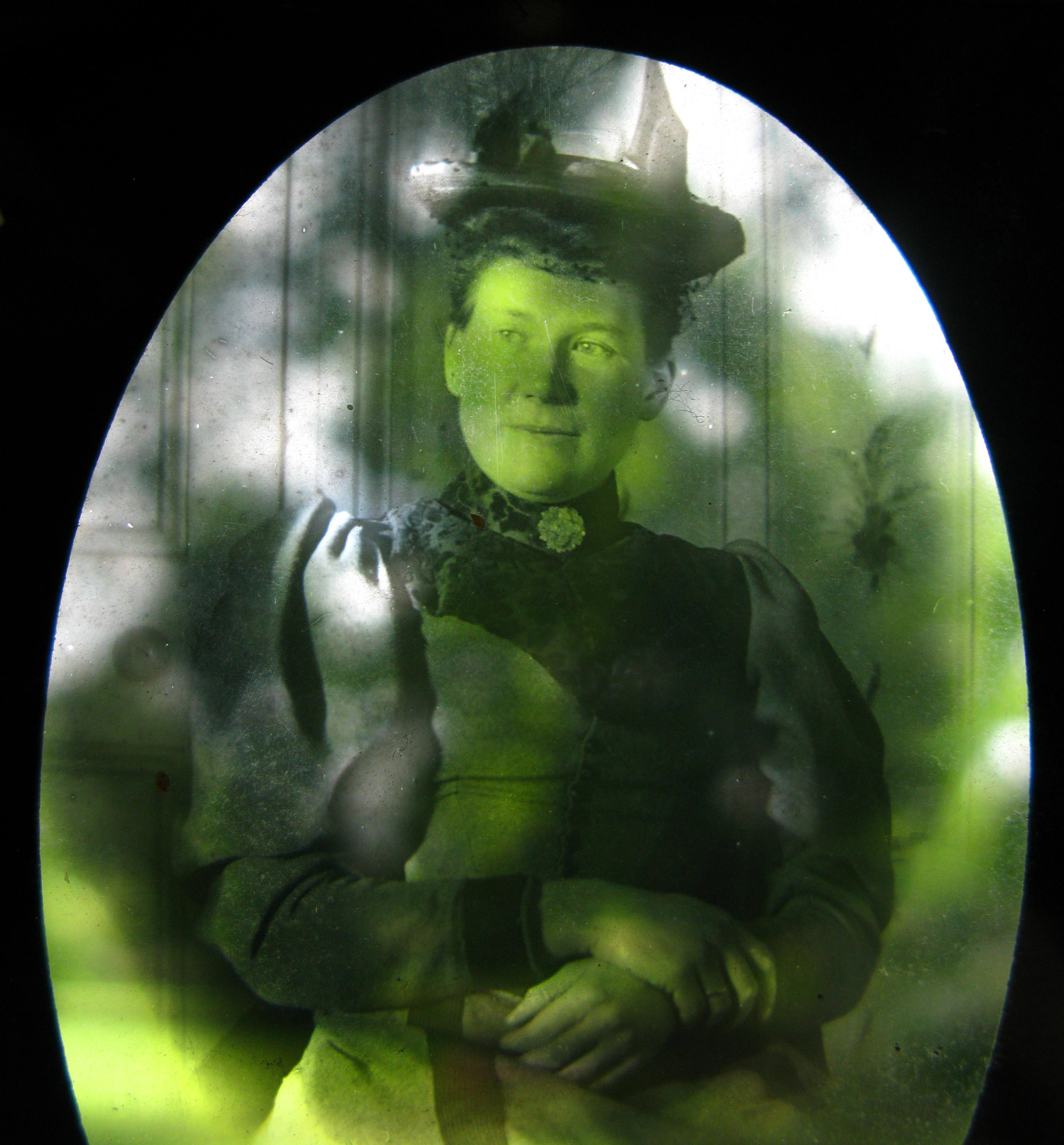 Victorian magic lantern slide