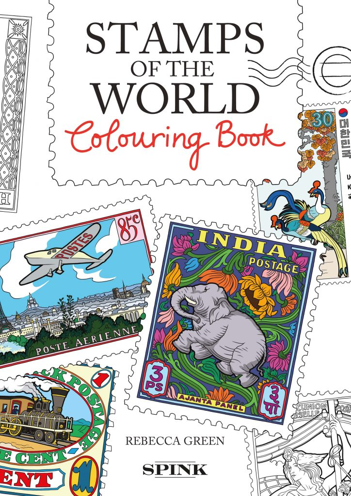 Stamps of the World Colouring Book